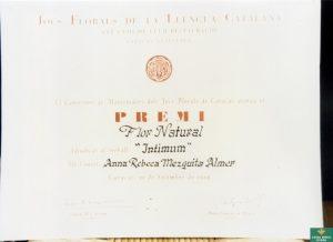 ANNA REBECA MEZQUITA_JOCS FLORALS CARACAS 1966